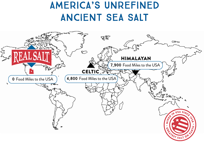 America's America's Unrefined Ancient Sea Salt Redmond Real Salt