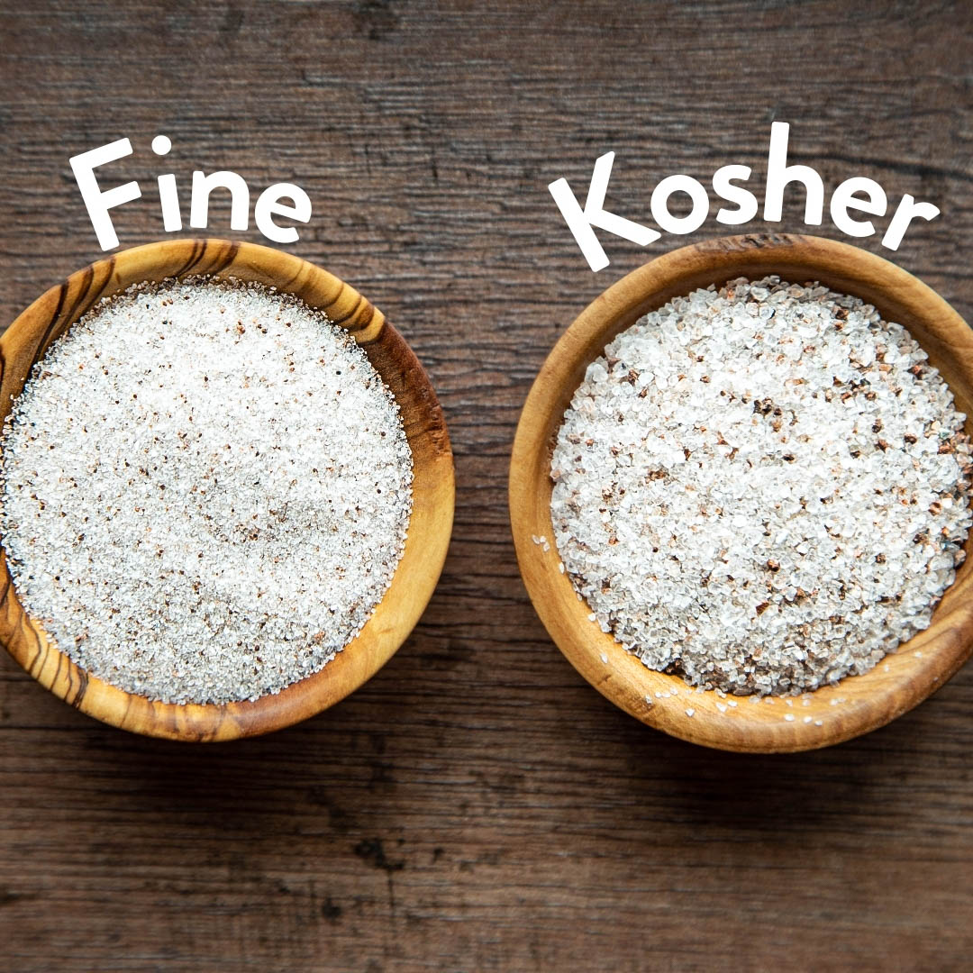 kosher salt -2