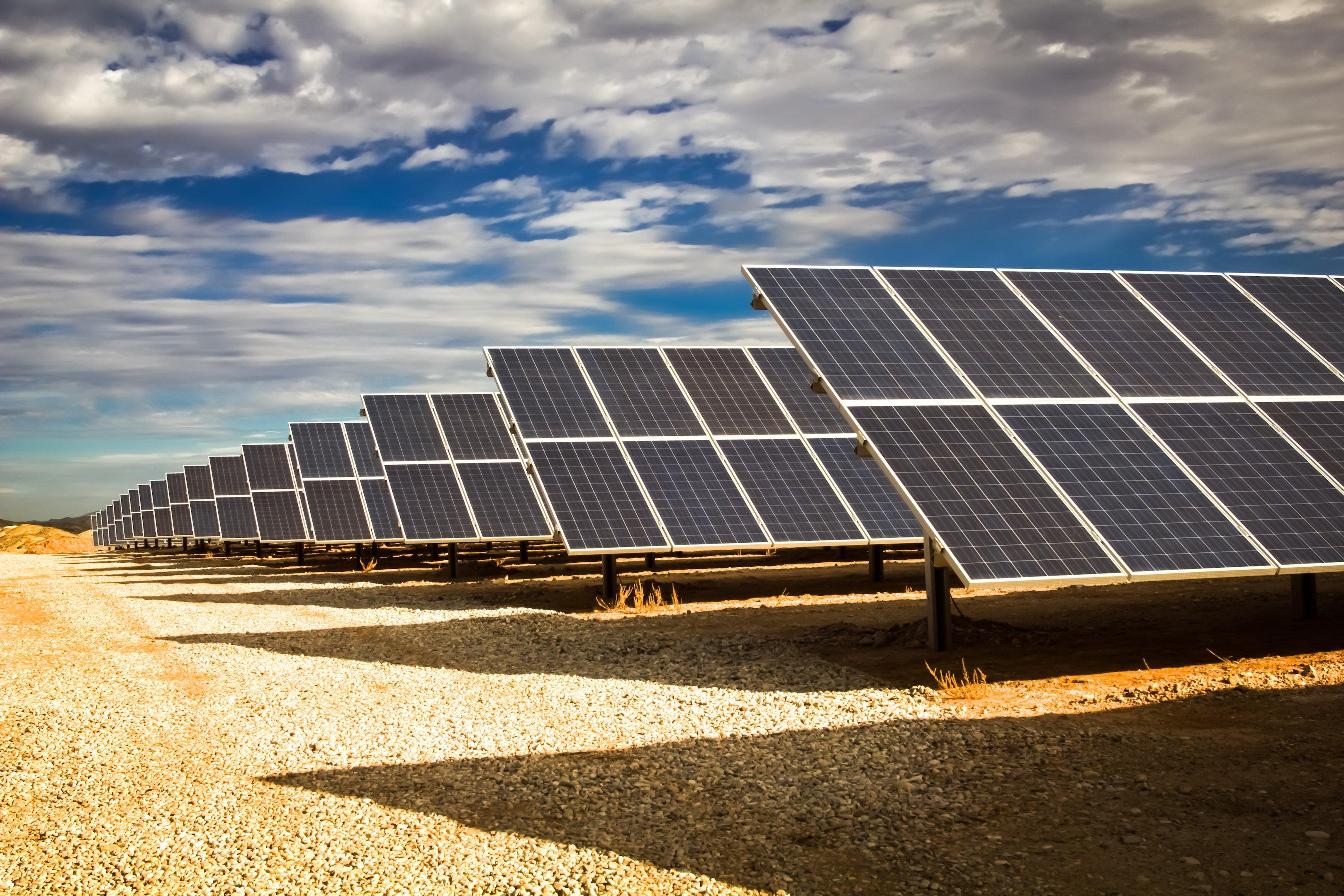 Redmond mine solar fields