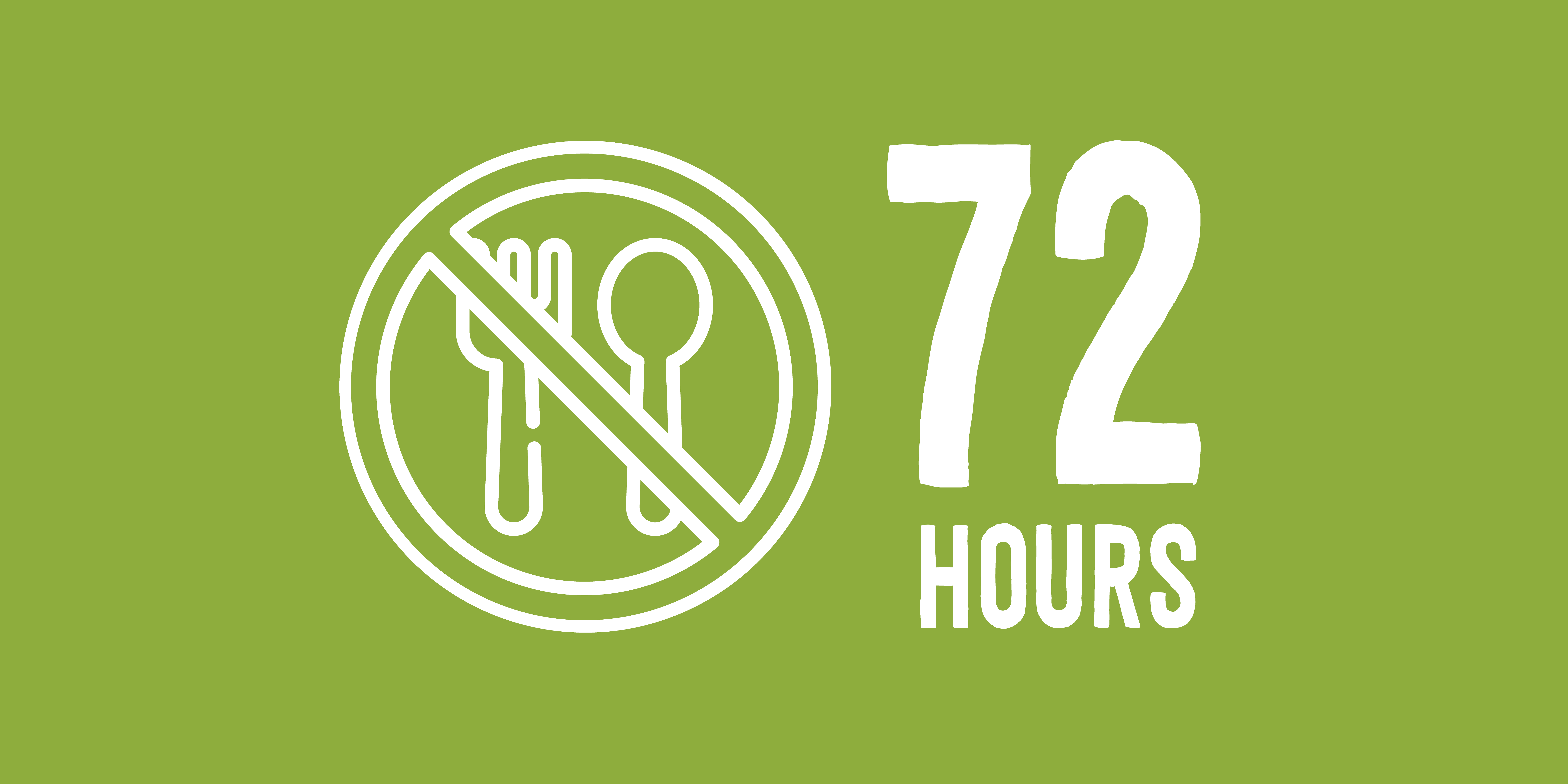 fasting for 72 hours