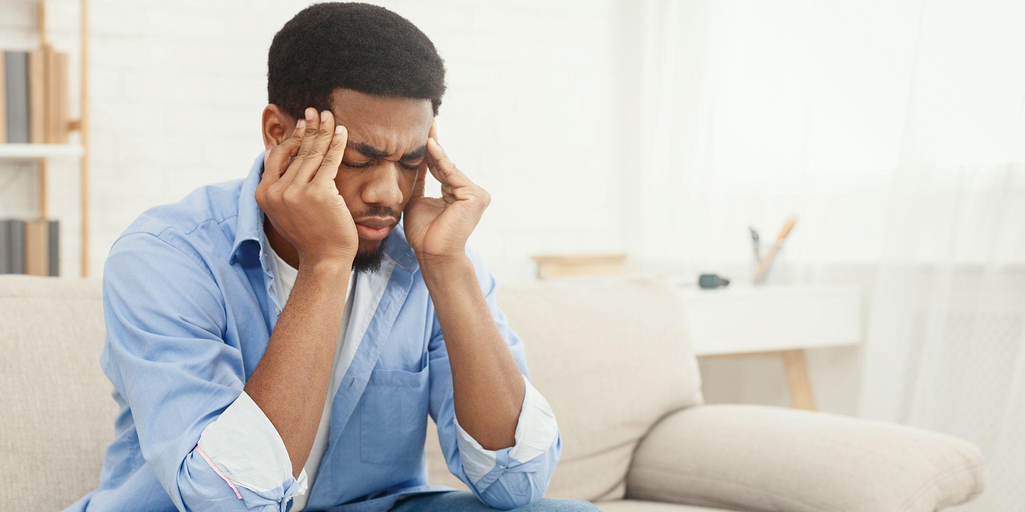 Headache when fasting